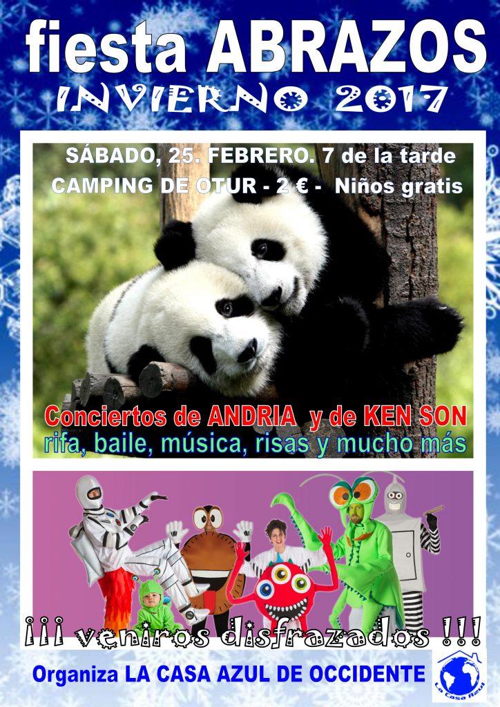 CARTEL ABRAZOS INVIERNO 2017